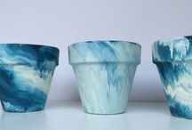 Pot Designs / Ideas and inspiration for painting pots