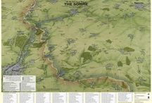 Aerial View Hand Drawn Maps / Taken from the Fir tree Map range, these maps are based on hand drawn maps that show the area in 3D and give a great visual representation of the topography