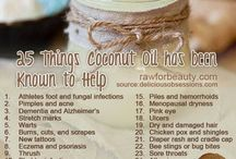 Coconut Oil Benefits / by Billie Jo Harville