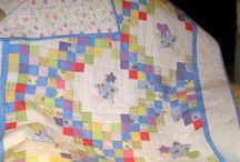 Coperta baby con stelline e cuori