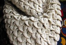 Crochet facile / Point crocodile