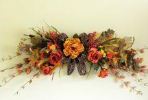 Horizontal flower arrangements