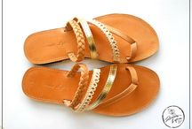 Summer Sandals s2015 / Handmade Leather Sandals made in Greece more info at renatalytra@gmail.com