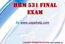 HRM 531 Final Exam Latest Online HomeWork Help