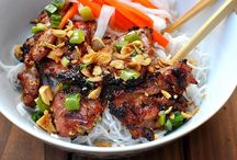 Asian recipes / by Rose Sarich