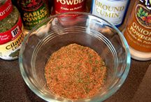 Seasonings, Rubs, and Marinades / by Glenda Morris