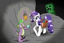 MLP and Minecraft