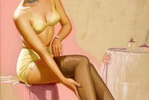 Vintage Pin Ups / by Terry Mazza