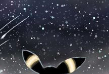 Umbreon / Umbreon is by far my favorite pokemon, and in my eyes she is the most epic! my wallpaper is actually an umbreon.