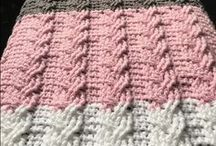 Crochet and Knitting stitches and ideas