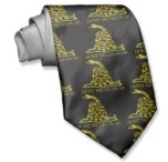 Dont Tread On Me Tie / Funnies Dont Tread On Me Tie