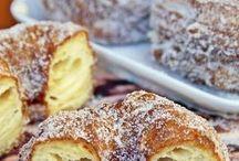 Kuchen,Küchlein, Brot und Brötchen
