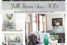 Fall home tour / Decorating the home for fall