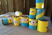 Minion feestje! / Doe inspiratie op voor een leuk kinderfeestje geheel in minion style!