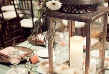 reception centerpieces / by Desiree Russo Wedding Planner