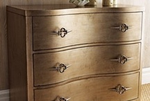 Metallic painted furniture