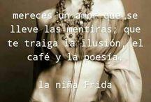F RIDUCHA DE MIS AMORES
