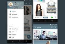 Free Mobile App UI PSD