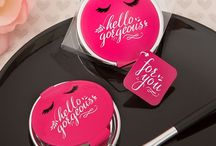 Compact Miror Favors / Fun compact mirrors for bridal shower, bridesmaids gift and girls night out party