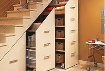 Solutii depozitare sub scări