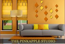 THE PINKAPPLE DESIGN STUDIO / Furnitures, Window Blinds, Lighting solution, Floor Rugs, Wall Art and lot more option- all available under one roof