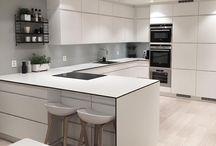 cozinhas brancas