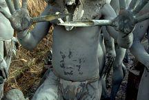 Rituales, objetos tribales...