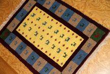 ギャッベ、手織りペルシャギャッベ、ガッベ、GHABBEH / 手織りペルシャギャッベの画像,イラン製の遊牧民的な敷物、とっても人気高いじゅうたん、自然羊のウールでとっても可愛いデザイン、イランギャッベ