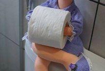 Toiletpaper/Tissue holder