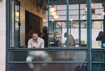 Interior_Shop / Interior of Cafe,  Restaurant