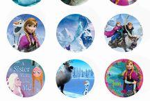 Frozen,princezny a jiné