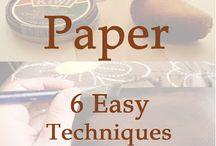 technique_aging paper