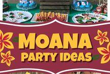 Moana / Fiestas infantiles