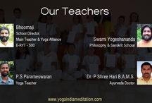 Yoga Teachers / About yoga teachers