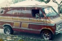 Dodge street van /