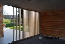 Wooden sunbreakers - Leseni brisoleji / Completely new range of unique shading solutions for your home makes a terrace multifunctional in all seasons. Sunbreakers can be produced in any dimension you want!