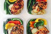 Meal prep lunches