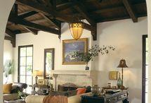 Spanish exposed ceiling