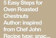 CHESTNUT (Cooking)