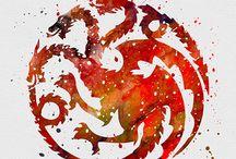 A*H.Tn /               House Tragaryen - Fire and Blood