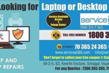 Service@365.com / laptop service center, pc service center, inverters service in Vizag, automation in vizag, cctv in vizag