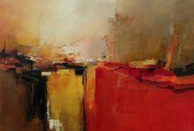 abstracte acryl