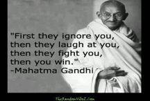 19 Famous Inspiring Mahatma Gandhi Quotes