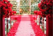 Seeing Red / Will red be the dominant or accent color for your wedding?