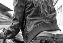 Motocicleta de menina