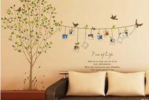 Alberi a parete