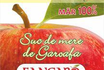 """Fangaro -  Suc de Mere """"de Garoafa"""" / Sucul de Mere """"de Garoafa""""  prezent în piață sub marca inregistrată FANGARO Natural ®,   a rezultat dintr-o pasiune pentru îngrijirea livezii proprii. Suntem o intreprindere autorizata ce își desfășoară activitatea în familie. Obiectivul nostru este să producem produse calitative 100% naturale. www.fangaro.ro"""