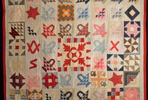 Remember Me ~ Basket Blocks / Basket blocks are well represented in signature quilts.