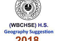Geography Suggestion for Higher Secondary 2018 প্রকাশিত হল SuggestionPedia থেকে।