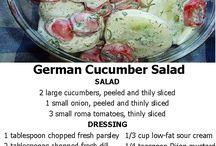 komkommer slaai